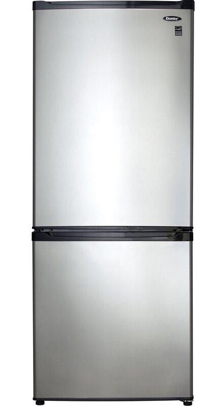 Danby 9.2 cu. ft. Counter Depth Bottom Freezer Refrigerator with ...