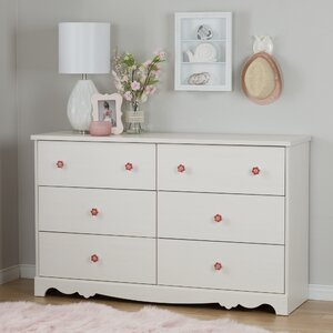 Lily Rose 6 Drawer Double Dresser