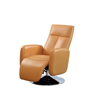Lucama Leather Handle Manual Recliner
