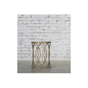 Hermina End Table by Rosdorf Park