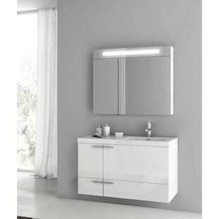 New Space 39 Single Bathroom Vanity Set by ACF Bathroom Vanities