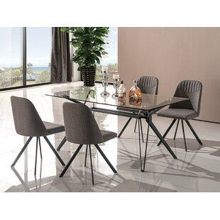 Doner 5 Piece Dining Set Mercury Row