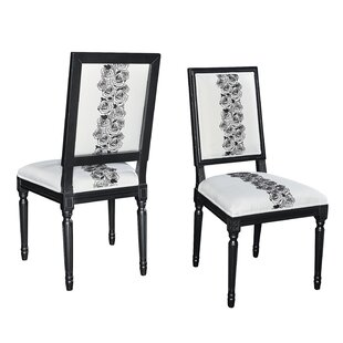 Andrews Rose Side Chair (Set of 2) by Hou..