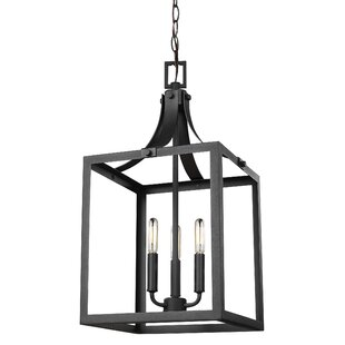 Modern contemporary lantern chandelier allmodern save mozeypictures Image collections