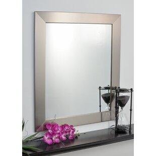 Brandt Works LLC Silver Designer Entry Way Wall Mirror