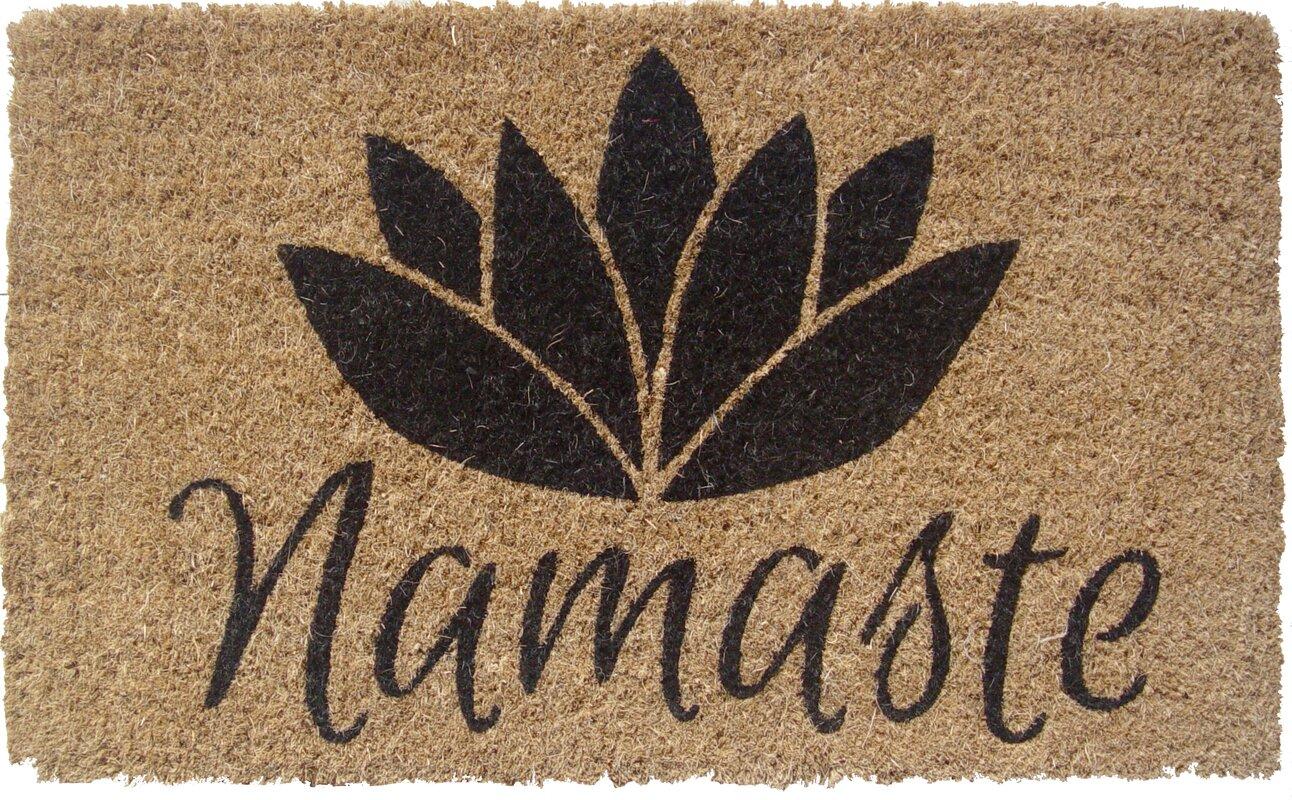 Entryways Namaste Doormat & Reviews | Wayfair