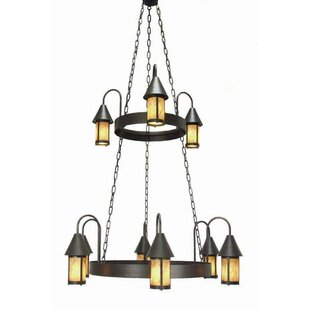 2nd Ave Design Algonquin 9-Light Shaded Chandelier