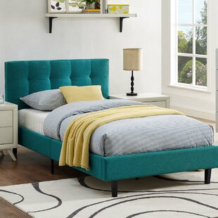 Molinaro Upholstered Platform Bed by Wrought Studio