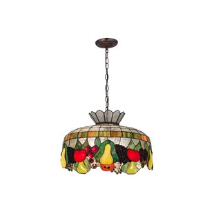 Fleur De Lis Living Grigg 3-Light Novelty Pendant
