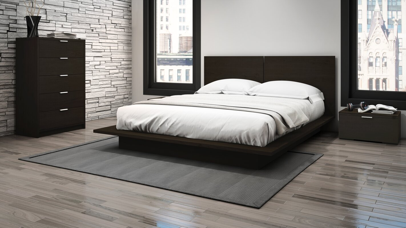 Decimus Queen Platform Configurable Bedroom Set & Reviews | AllModern
