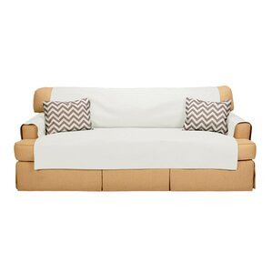 Sofabulous T-Cushion Sofa Slipcover by..