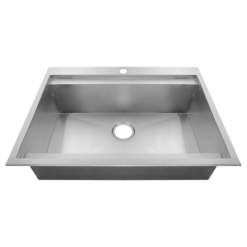 30   x 22   drop in kitchen sink akdy 30   x 22   drop in kitchen sink  u0026 reviews   wayfair  rh   wayfair com