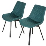 Dunford Upholstered Dining Chair (Set of 2) by Wrought Studio™