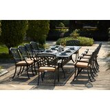 Lenahan 11 Piece Dining Set with Cushions
