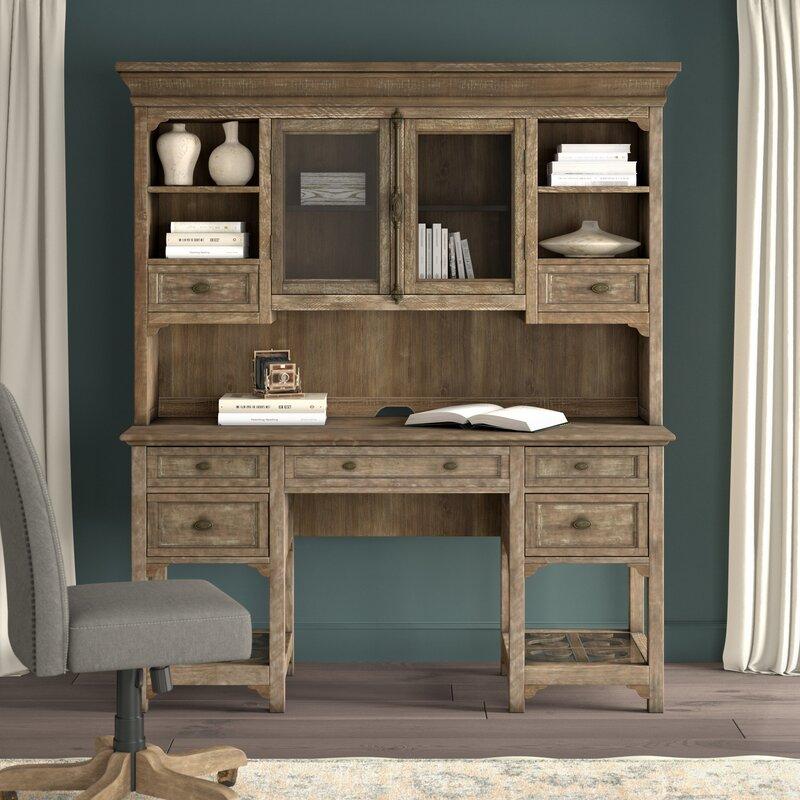 Merveilleux Greyleigh Ellenton Secretary Desk With Hutch | Wayfair
