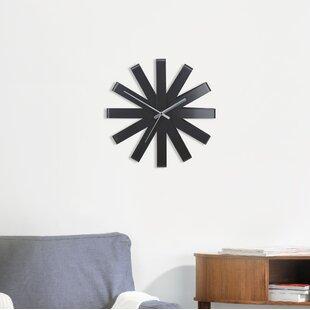 Ribbon Clock Wayfair