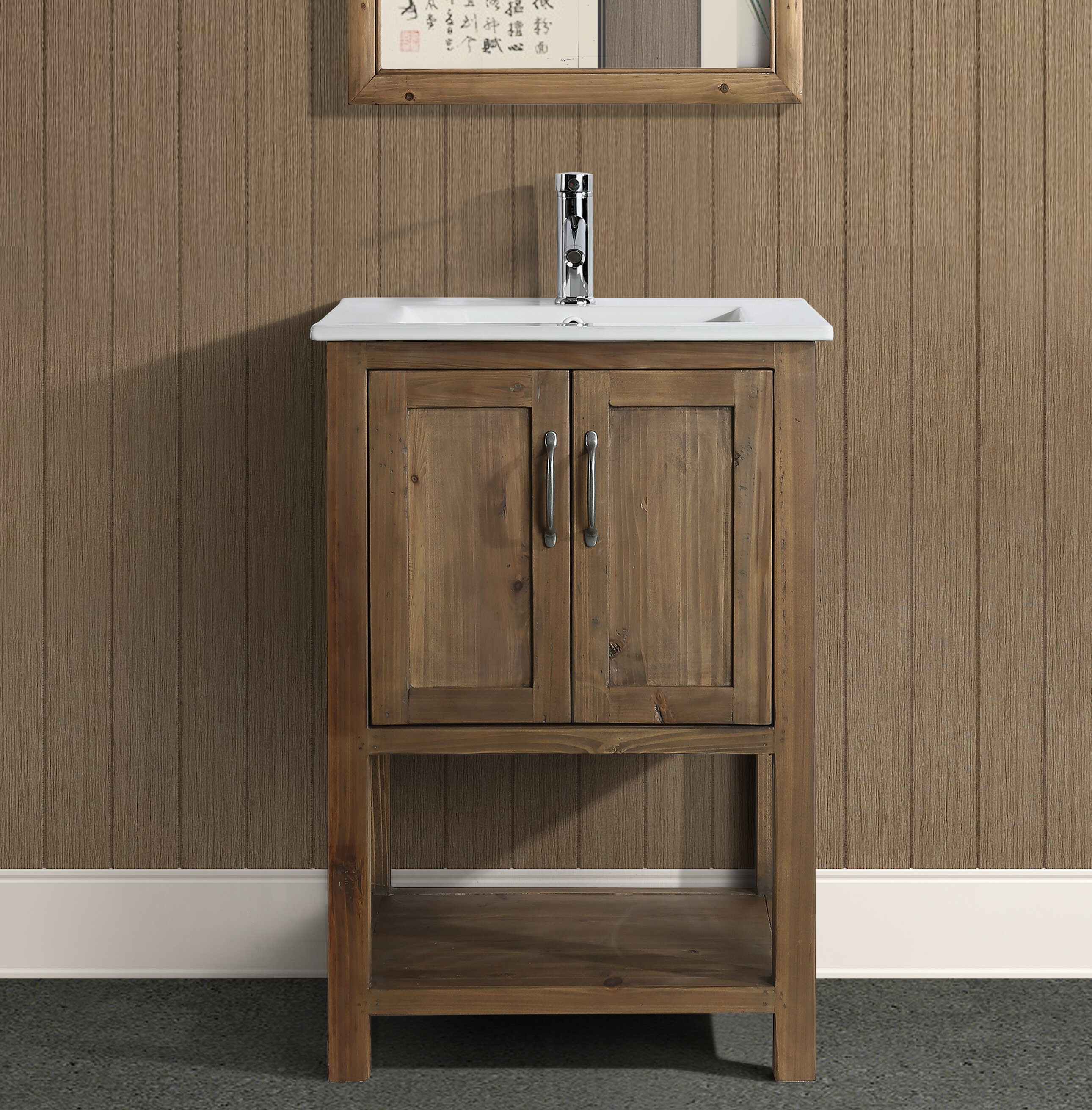 Foundry Select Austin 24 Single Bathroom Vanity Set Reviews Wayfair