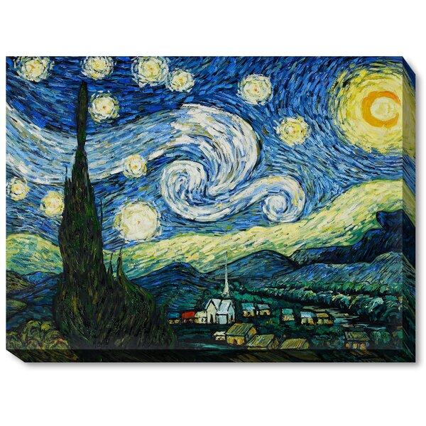 Starry Night Canvas Wayfair