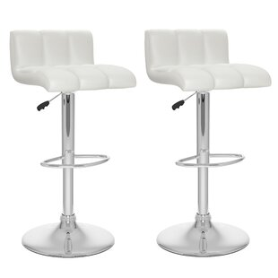 Andres Adjustable Height Swivel Bar Stool..