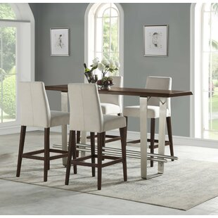 Koffler 5 Piece Counter Height Dining Set Ivy Bronx