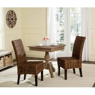 Treasure Island Dining Chair (Set of 2) Beachcrest Home