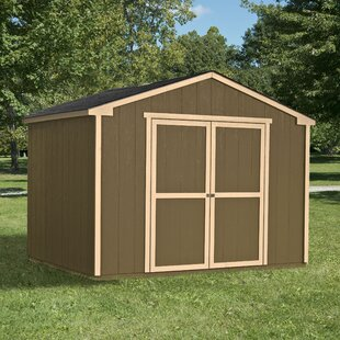 Handy Home Marco Series 10 ft. 7 in. W x 12 ft. D Wood Storage Shed