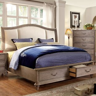 Plaza Upholstered Storage Platform Bed