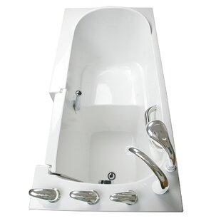 Ella Walk In Baths Narrow Wide Whirlpool Walk-In Tub