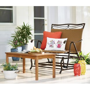Stapleton Glider Bench by Charlton Home Great Reviews