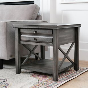 Swart End Table with Storage