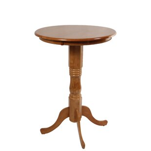 Amundson Round Fruitwood Pub Table