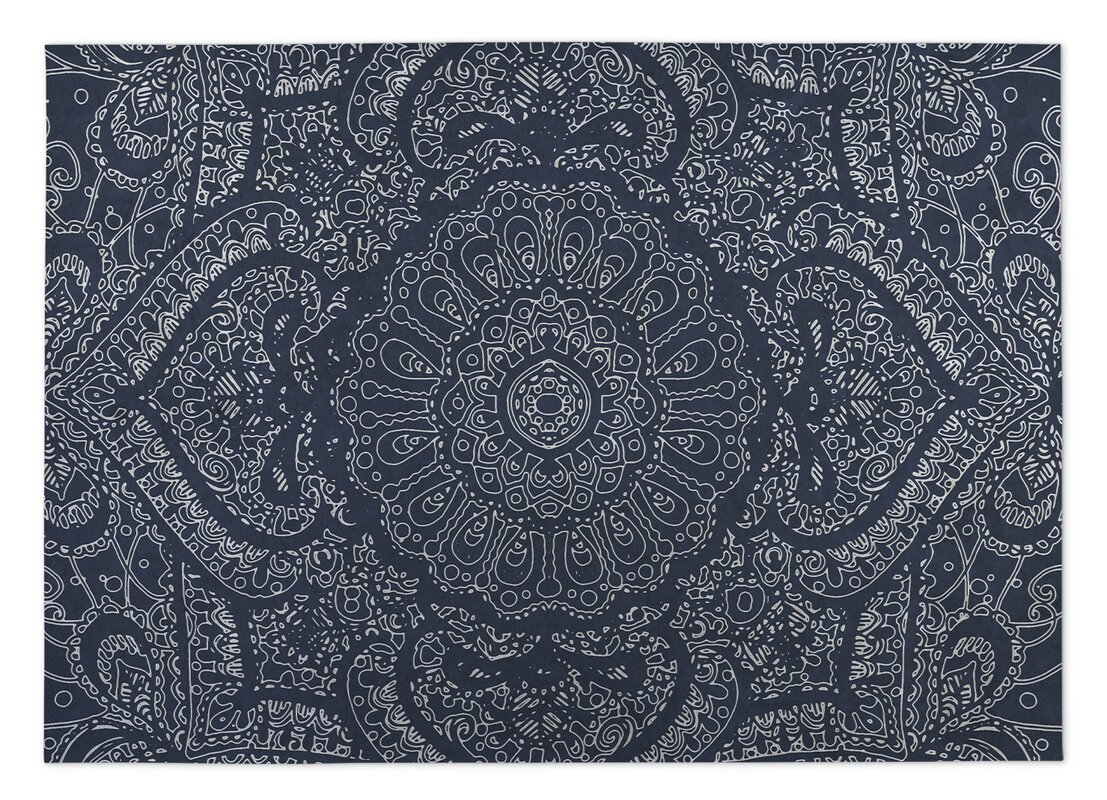 Awesome Mandala Indoor/Outdoor Doormat