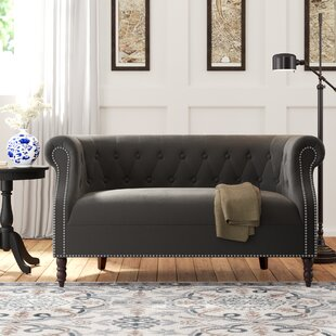 Quinones Chesterfield Loveseat by Andover Mills