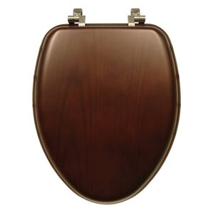 Natural Reflections Wood Elongated Toilet SeatToilet Seats You ll Love   Wayfair. Oblong Toilet Seat Cover. Home Design Ideas