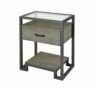 Sewell End Table with Storage by Brayden Studio