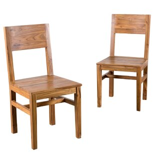 Wildon Home ? Hagerman Solid Wood Dining Chair (Set of 2)