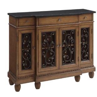 Hitton Hallway Wooden 3 Drawers Accent Cabinet ByFleur De Lis Living