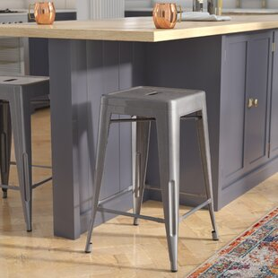 Jerome Backless Metal 24.25 Bar Stool Trent Austin Design