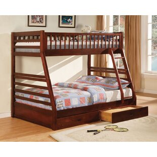 Sansom Twin Over Full Bunk Bed with Drawers