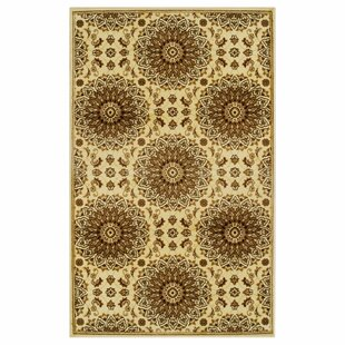 Goshen Gold Area Rug by Bloomsbury Market