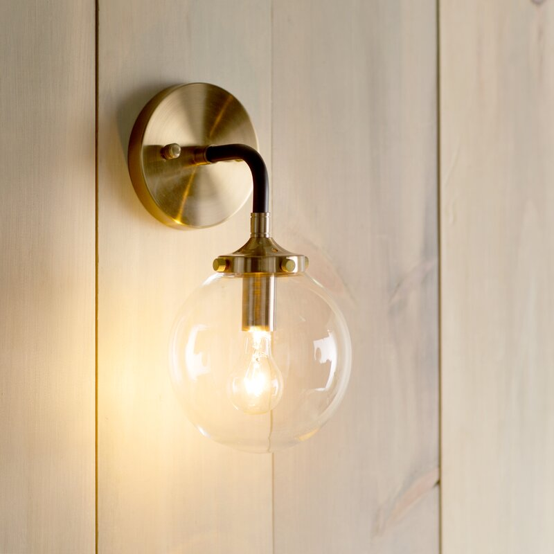 Christo 1-Light Wall Sconce & Langley Street Christo 1-Light Wall Sconce u0026 Reviews | Wayfair azcodes.com