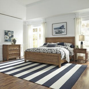Milford Panel 3 Piece Bedroom Set