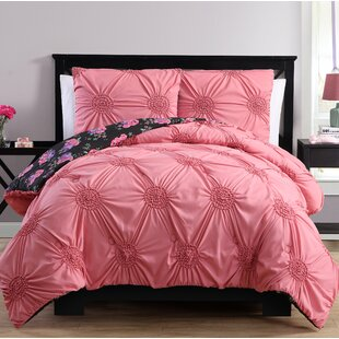 Dimas Reversible Comforter Set by Latitude Run Best Choices