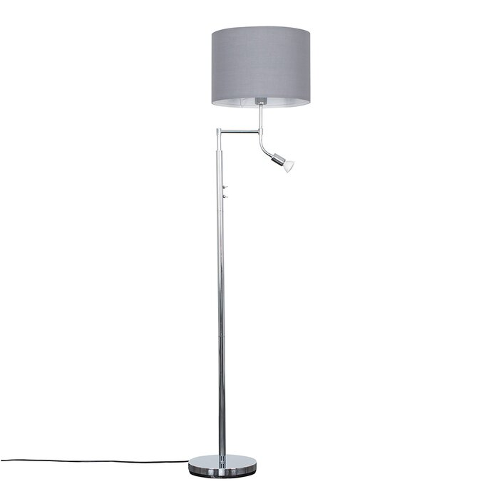 Romola 158cm Swing Arm Floor Lamp