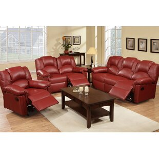 Andy Reclining 3 Piece Living Room Set by..