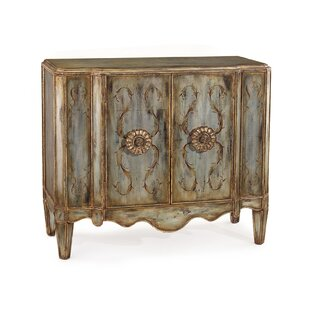 John-Richard Lotus 2 Door Accent Cabinet