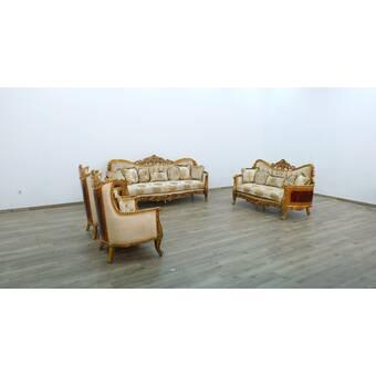 Astoria Grand Phillips 3 Piece Living Room Set Wayfair