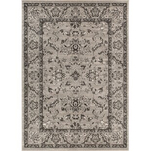 Giles Traditional Grey Area Rug By Charlton Home
