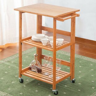 Arkadelphia Kitchen Cart Ebern Designs