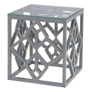 Sallie End Table by Bungalow Rose